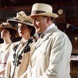 Elisabeth McGovern y Hugh Bonneville, protagonistas de 'Downton Abbey'