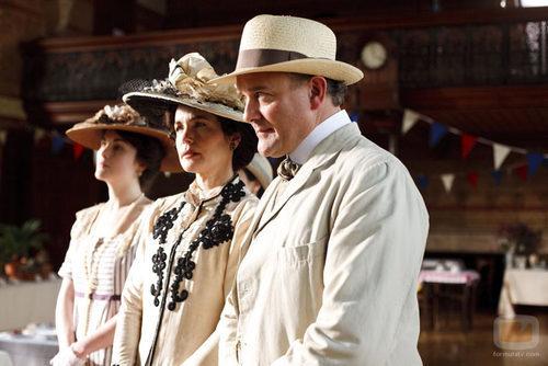 Elisabeth McGovern y Hugh Bonneville, protagonistas de ...