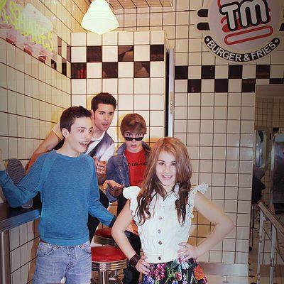 Los protagonistas de la serie 'La Gira' de Disney Channel