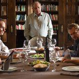 Los Cortázar reunidos en la mesa