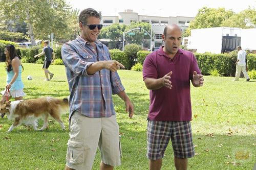 Bobby y Andy en 'Cougar Town'