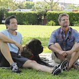 Grayson y Bobby en 'Cougar Town'