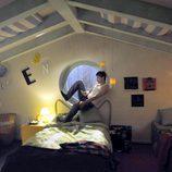Culebra en su habitación, en 'Los protegidos'