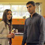 Ángel y Sandra en 'Los protegidos'