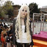 Taylor Momsen en la alfombra naranja de los Kids' Choice Awards