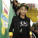 Jaden Smith en la alfombra naranja de los Kids' Choice Awards