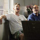 Bobby y Andy ríen