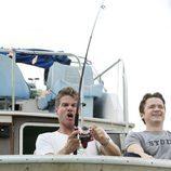 Bobby pesca con Travis