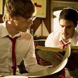Palomares y Piti leen el diario secreto