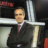 Juan Pedro Valentín, director de 'Noticias Cuatro'