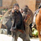 Álex García en la segunda temporada de 'Tierra de lobos'