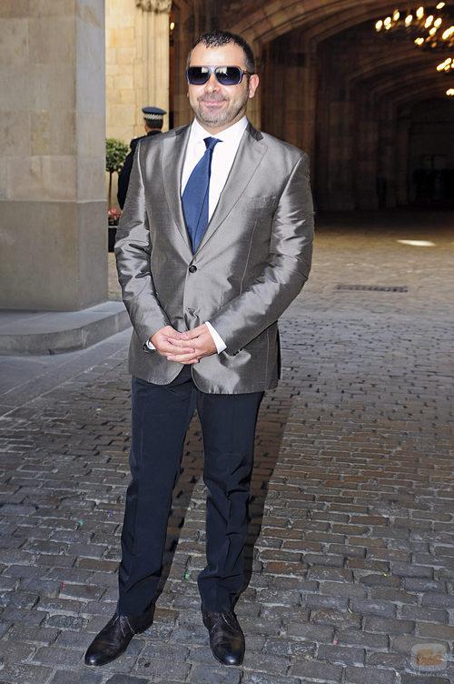 Jorge Javier Vázquez acudió a la boda de Óscar Cornejo y Jaume Collboni
