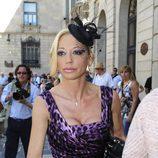 Belén Esteban, una princesa en la boda de Óscar Cornejo y Jaume Collboni