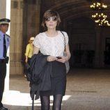Sandra Barneda en la boda de Óscar Cornejo y Jaume Collboni