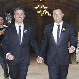 Jaume Collboni y Óscar Cornejo se casan