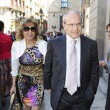 José Montilla en la boda de Óscar Cornejo y Jaume Collboni