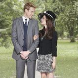 Nico Evers-Swindell y Camilla Luddington en la TV-movie 'William & Kate'