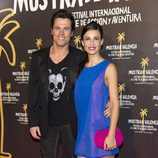 Octavi Pujades y Xenia Tostado en la première de 'Piratas'