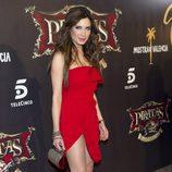 Pilar Rubio en la première de 'Piratas'