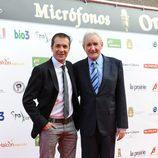 Manu Carreño en los Micrófonos de Oro 2011