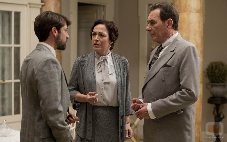 Fernando, Leocadia y Agustín