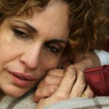 Cayetana de Alba llora con la muerte de su marido