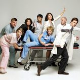Los protagonistas de 'Nurse Jackie'