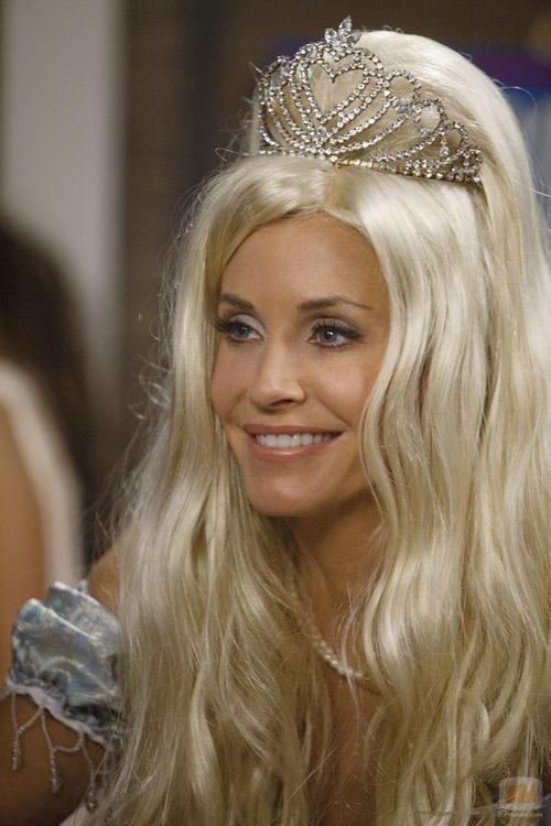 Jules, como princesa en 'Cougar Town'