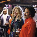 Los protagonistas de 'Cougar Town', disfrazados por Halloween