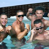 "Ronnie, Vinny, Pauly D y Mike ""The Situation"""