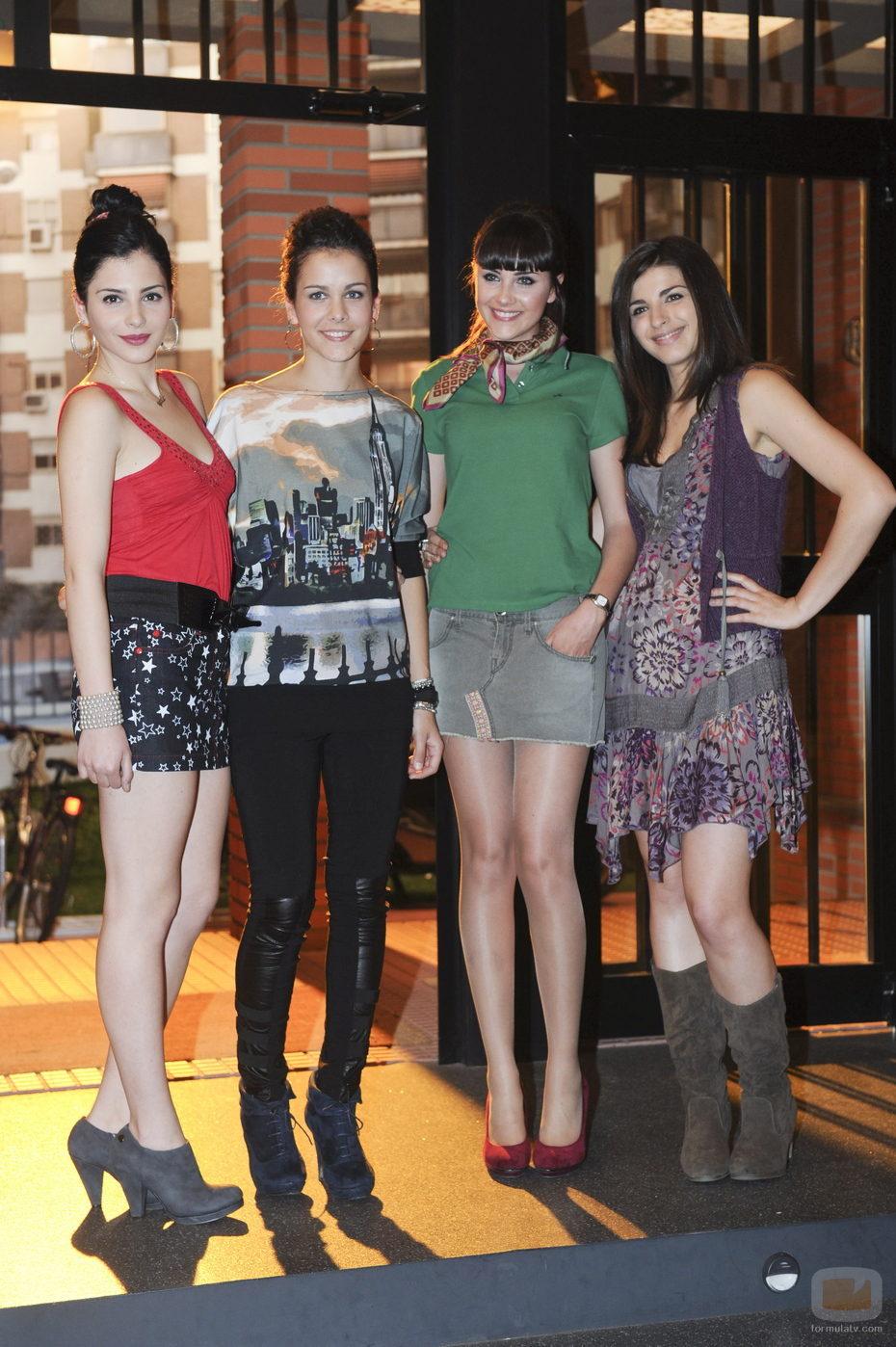 Andrea Duro, Sandra Blázquez, Lucía Ramos y Lorena Mateo