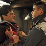Ángel y Culebra se pelean en 'Los protegidos'