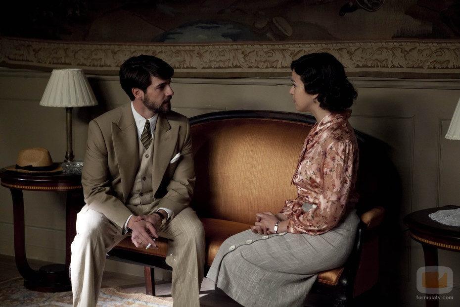 Fernando y Alejandra en '14 de abril. La República'