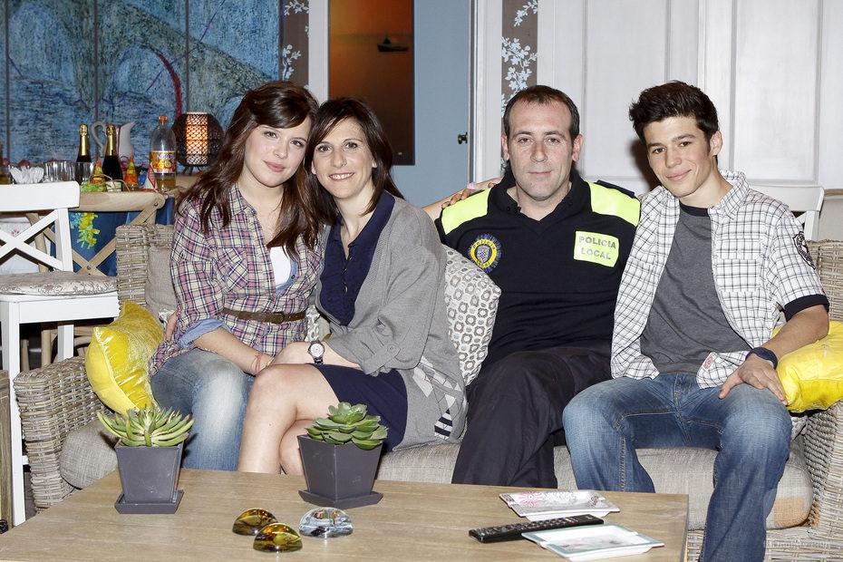 Nata, Lola, Sebas y Álex