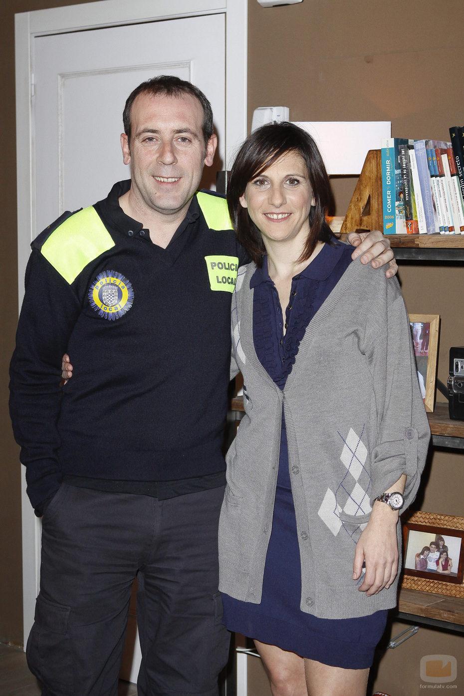 Antonio Molero y Malena Alterio