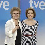 Las actrices Beatriz Carvajal y María Pujalte