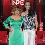 Las dos presentadoras de 'Nacidas para cantar'