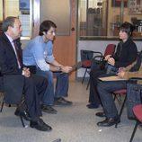 Reunión de policías en 'El comisario'
