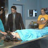 Un cadáver en 'El comisario'