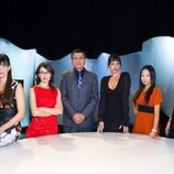 Beatriz Montañez, Thais Villas, Wyoming, Yolanda Ramos, Usun Yoon y Cristina Peña