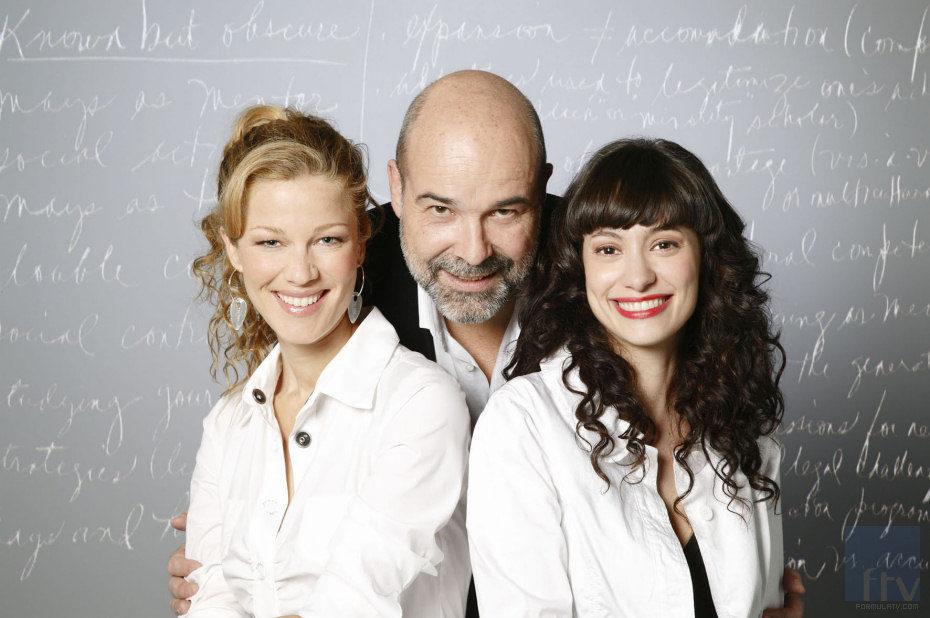 Jaydy Michel, Antonio Resines y Natalia Verbeke