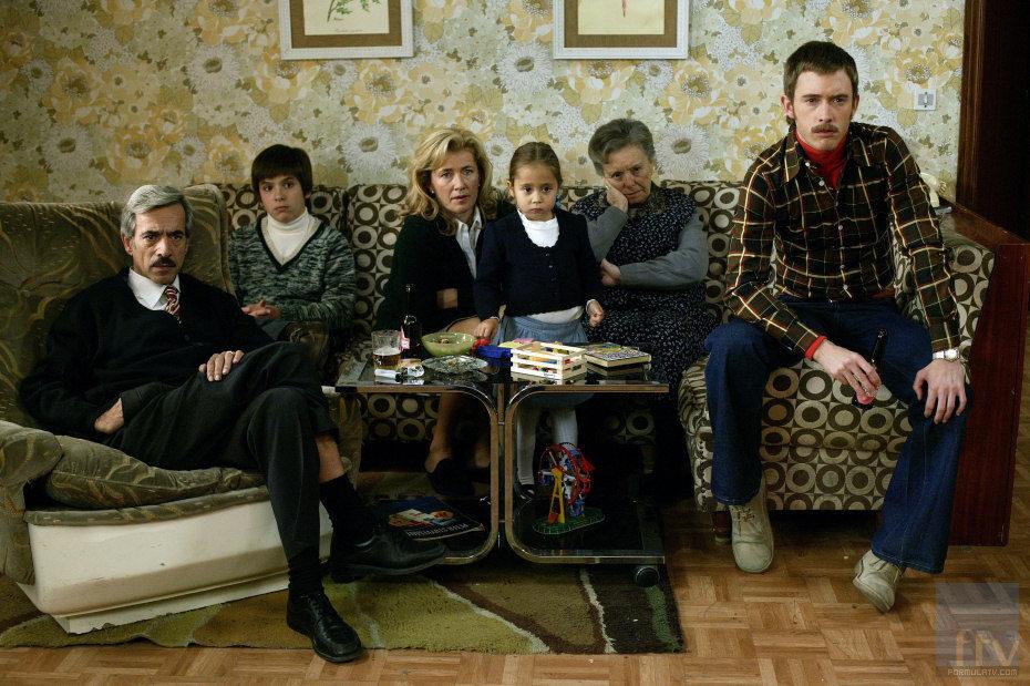 La familia Alcántara, expectante ante la inminente muerte de Franco.