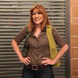 María Casal posa en la presentación de la quinta temporada de 'La que se avecina'