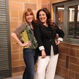 María Casal e Isabel Ordaz ríen