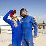 Patricia Conde y Miki Nadal se tirarán en paracaídas