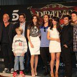 El elenco de actores de 'Piratas'