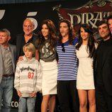 Los protagonistas de 'Piratas' presentan la serie