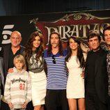 Pilar Rubio y Óscar Jaenada, al frente de 'Piratas'
