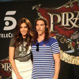 Pilar Rubio y Óscar Jaenada, de 'Piratas'