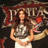 Pilar Rubio en la presentación de 'Piratas'